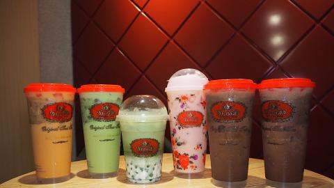 【銅鑼灣美食】泰國過江龍手標茶ChaTraMue開幕 招牌泰式奶茶/斑蘭珍珠鮮奶