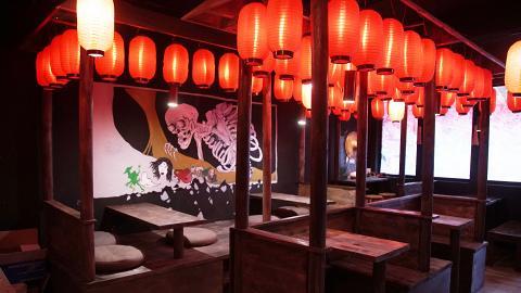 【銅鑼灣美食】銅鑼灣新開神秘妖怪居酒屋 日本怪談菜式+手繪妖怪壁畫