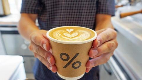 【上環美食】%Arabica新開全港最大分店 PMQ元創方分店設室內+室外座位歎咖啡