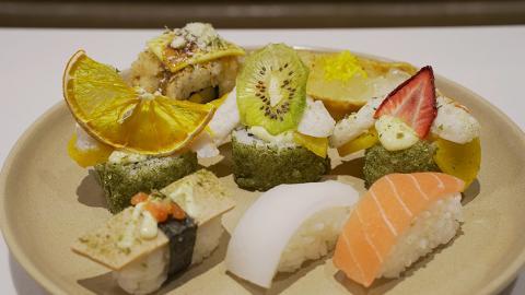 【銅鑼灣美食】銅鑼灣新開$68素食自助餐 任食超過60款素菜/師傅即製素壽司