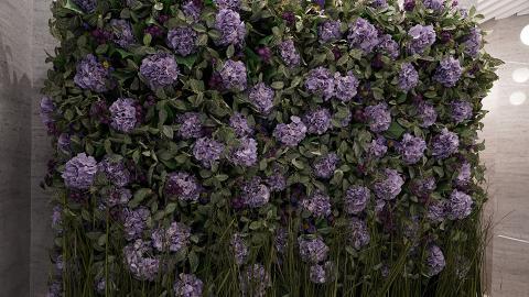 【天后好去處】全港首間紫色主題酒店 2大粉紫花牆/露天花園