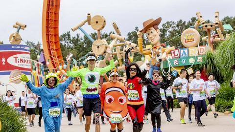 【迪士尼樂園】迪士尼首設Pixar夜跑+party!怪獸公司/反斗奇兵主題跑11月回歸