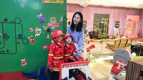 【親子好去處】荔枝角消防局主題髮型屋!小朋友遊樂場+大人剪髮區