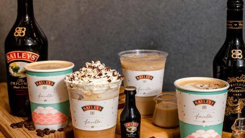 Baileys聯乘兩大Cafe推出新系列 Baileys咖啡特飲+甜品新登場