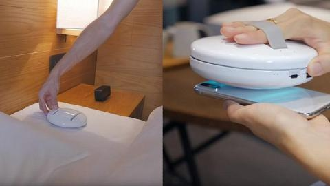 旅行好幫手!全自動清潔機械人 輕鬆剷除床單塵蟎+手機表面細菌