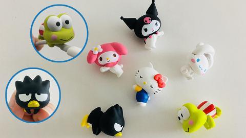 Sanrio新推6款Cable Bite扭蛋!My Melody/Hello Kitty/Kuromi/玉桂狗/Keroppi
