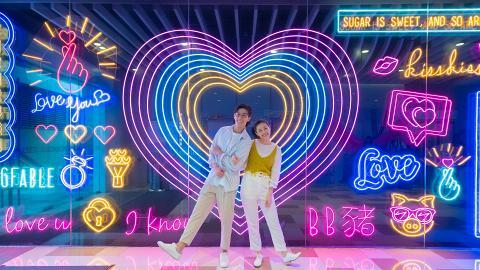 【黃大仙好去處】3米高巨型霓虹燈牆登場 6大影相位/15大浪漫場景任拍