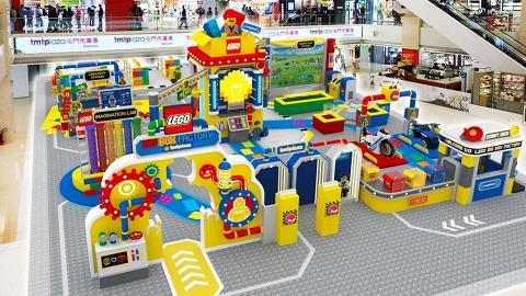 【暑假好去處】LEGO遊樂工場登陸屯門!6米高巨型控制塔/動物園