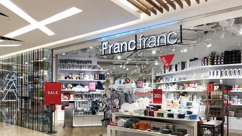 【減價優惠】Francfranc夏日大減價低至半價!傢俬/餐具杯碟/攬枕$35起