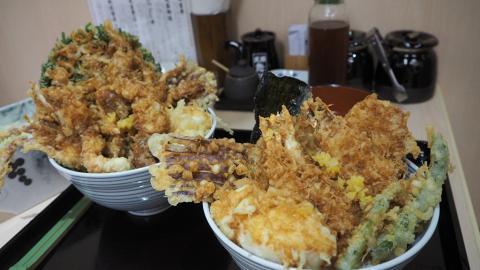 【旺角美食】日本過江龍天吉屋進駐旺角 歎抵食天婦羅丼/香港限定軟殼蟹丼