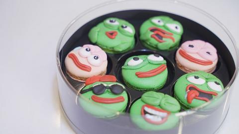 【荔枝角好去處】荔枝角烘焙店推人氣青蛙甜品班 鬼馬Pepe表情馬卡龍/戚風蛋糕