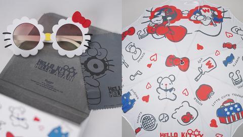 Hello Kitty 45週年主題展會場限定精品!20款AirPods套/Tee/文具/雨遮率先睇