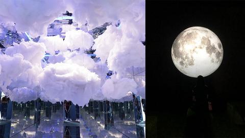 【暑假好去處】銅鑼灣5大自然風格彩色小屋 夢幻雲海/巨型月球/彩虹/黃昏