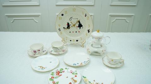 【尖沙咀好去處 】尖沙咀DIY陶瓷餐具 彩繪櫻花杯/近百款花紋圖案