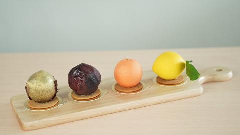 【觀塘美食】觀塘網店推超逼真水果流心蛋糕 全手工製還原檸檬/橙細節