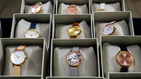 【中環好去處】中環OLIVIA BURTON開倉25折!英國名牌手錶/頸鏈/耳環$150起