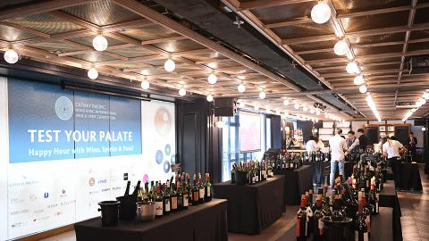 【中環好去處】Test Your Palate品酒派對登陸中環!2.5小時任飲逾400款葡萄酒