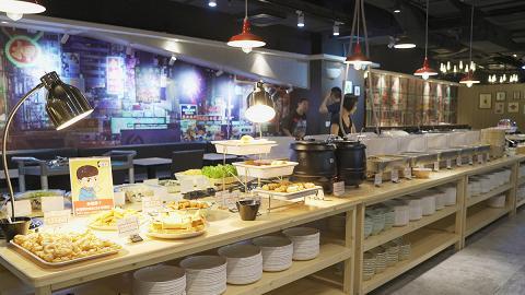 【觀塘美食】觀塘新開懷舊街頭小食主題素食自助餐 最平$48起任飲任食!