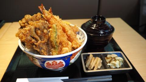 【葵芳美食】日本第一天丼店金子半之助登陸葵芳 $98歎即製足料天婦羅丼飯