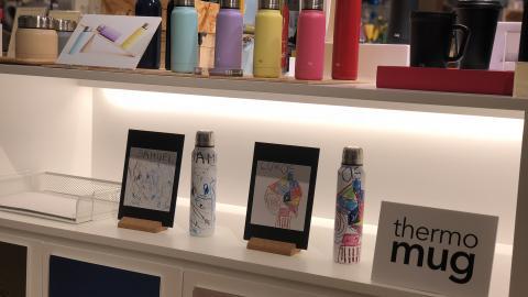 日本保溫瓶品牌尖沙咀期間限定店!DIY手繪個人化水樽/糖果色迷你水樽