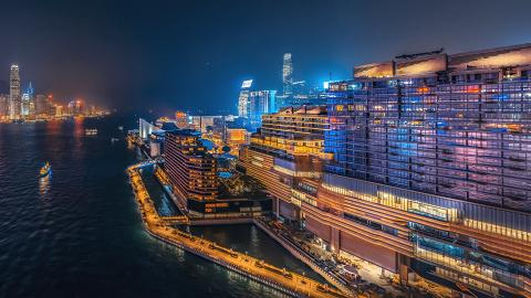 【K11 MUSEA】尖沙咀K11 ARTUS海景酒店式寓館 海景房/開放式客廳/露台/地址