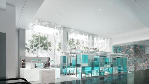 【尖沙咀美食】全球第二間The Tiffany Blue Box Cafe 夢幻湖水藍色咖啡店抵港