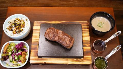 【荃灣美食】香港首間熱石濕式熟成牛扒 $88歎熟成牛/限時$98日本A5和牛