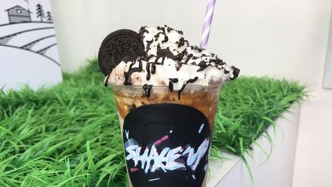【尖沙咀美食】尖沙咀新開紐約風美式奶昔店 MÖVENPICK雪糕+鮮果肉沖製