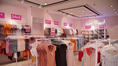【減價優惠】6IXTY8IGHT全線分店減價低至4折 上衣/牛仔褲/連身裙/內衣$29.9起