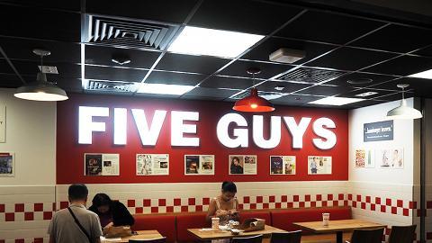 【尖沙咀美食】美國漢堡店FIVE GUYS登陸尖沙咀 招牌漢堡/花生醬奶昔/任食花生