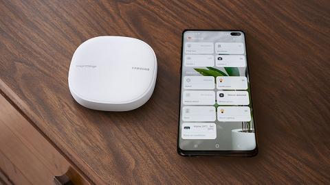 Samsung SmartThings Wifi 二合一智能家居總指揮