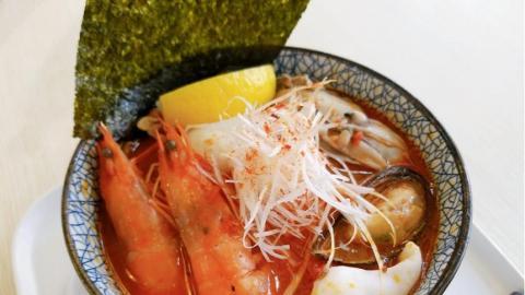 日本人氣過江龍拉麵店金田家 全新三款拉麵限定價$88