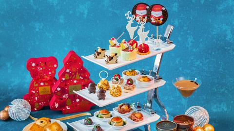 【尖沙咀美食】Hotel ICON推出GODIVA下午茶 精緻鹹甜點+任食黑朱古力軟雪糕