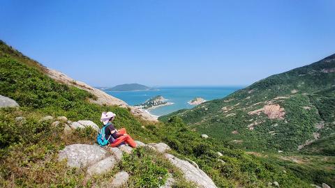 【行山路線】風景優美開揚俯瞰山海!龍脊 - 港島徑行山路線推介
