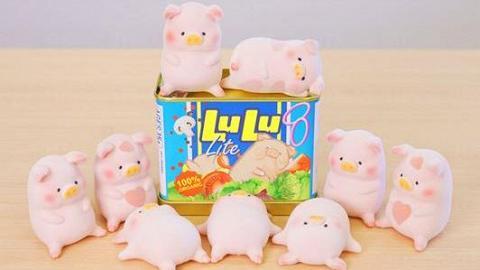 午餐肉罐頭Lulu豬登陸Log-On!香港開售 肥嘟嘟限量版心心圖案