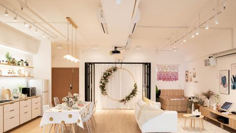 【Party Room】觀塘180°無敵海景Party Room 巨形花環/韆鞦/波波池/北歐風廚房