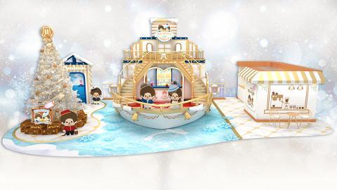 【 聖誕好去處2019】Monchhichi聖誕郵輪登埸 漫雪冰屋/7大華麗影相位
