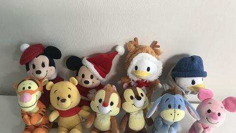 日本大熱迪士尼nuiMOs系列登陸香港 幫米奇/唐老鴨換聖誕新衫+蜜蜂裝