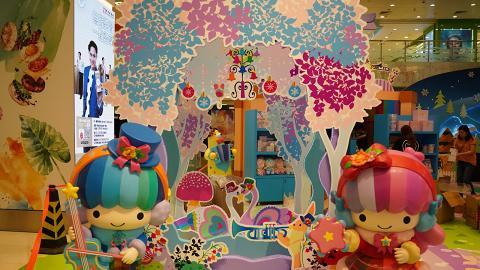 【聖誕好去處2019】Little Twin Stars冬日聖誕 6米城堡/飄雪冰屋/期間限定店