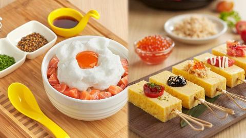 【旺角美食】人氣日式蛋料理店Tamago-EN抵港 生雞蛋拌飯/玉子燒/梳乎厘班戟
