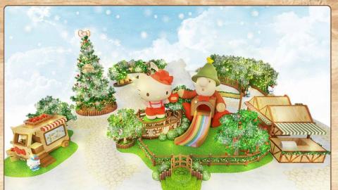 【聖誕好去處2019】Hello Kitty聖誕市集登陸屯門 6米高蝴蝶結聖誕樹/星光隧道