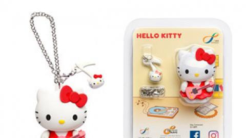 Sanrio 3D八達通配飾聖誕登場!Hello Kitty/Little Twin Stars/My Melody
