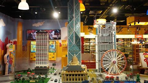 【K11 MUSEA】全港首間LEGO室內遊樂場精品店!迷你香港地標/3米高中銀大廈
