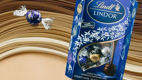 節日限定版LINDOR軟心黑朱古力全新登場 集齊三款濃度特級純味可可