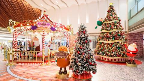 聖誕必去打卡!超夢幻互動聖誕裝置、盛大燈光滙演
