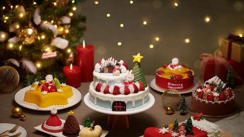 聖安娜餅屋推出全新12款限定聖誕蛋糕 多款聖誕造型甜品同步登場