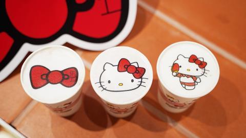 【銅鑼灣美食】銅鑼灣期間限定Hello Kitty Cafe 主題限定特飲/造型曲奇/精品