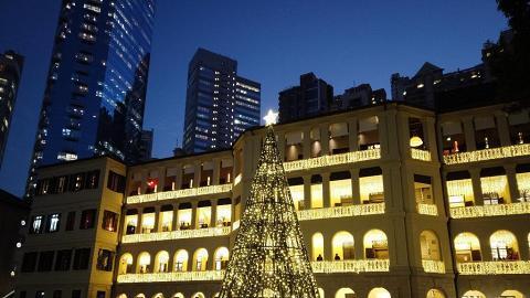 【聖誕好去處2019】全港8大冬日聖誕樹影相位 中環大館光影/迪士尼聖誕樹亮燈