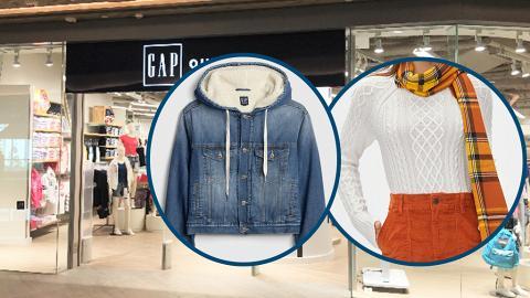 【減價優惠】Gap冬季大減價全場貨品4折!男女裝衛衣/毛衣/T恤/運動褲