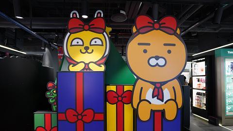 Kakao Friends聖誕造型登場!5大影相位/獨家換領精品/即影即有機